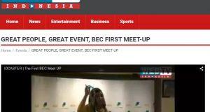 IdCaster Video untuk BEC Meet Up