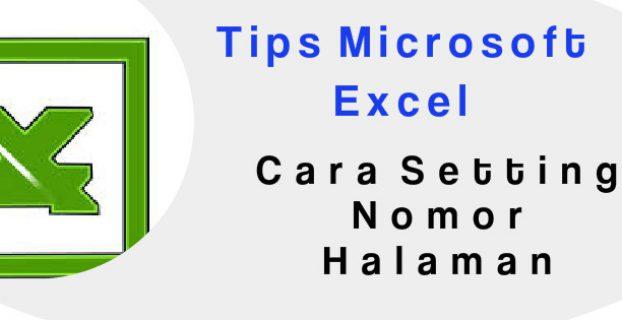 cara setting atau mengatur nomor halaman di microsoft