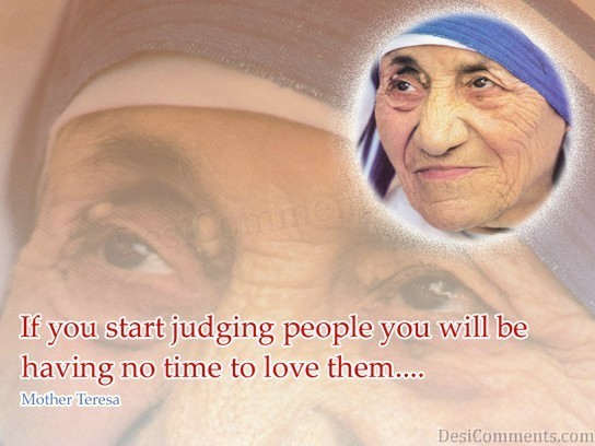 If You Judge People 1