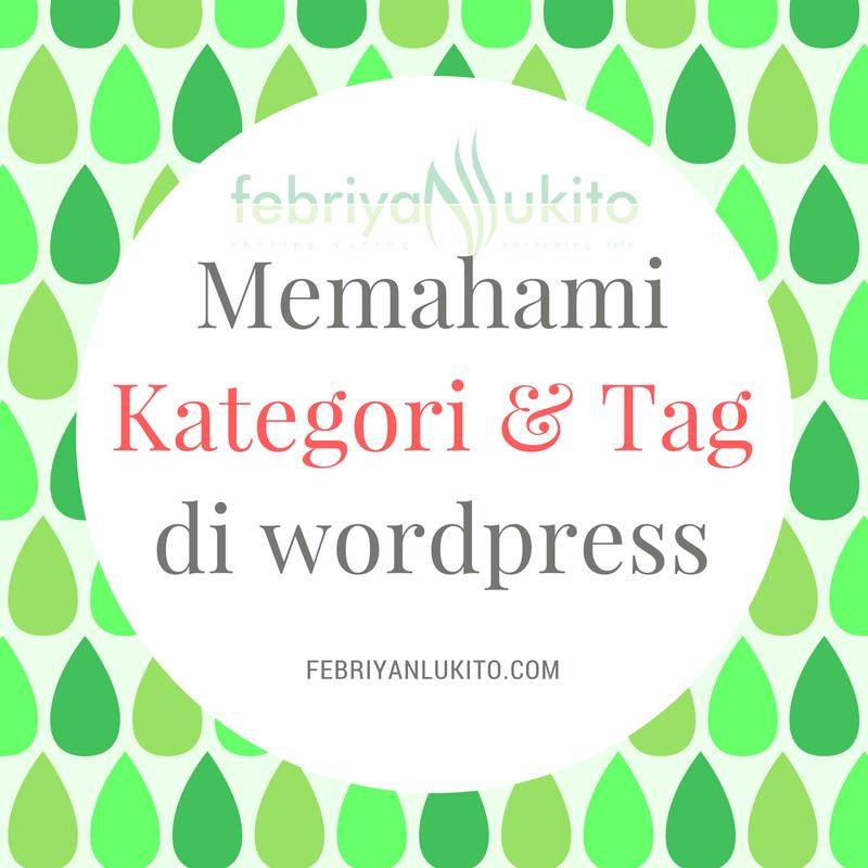 kategori dan tag di wordpress
