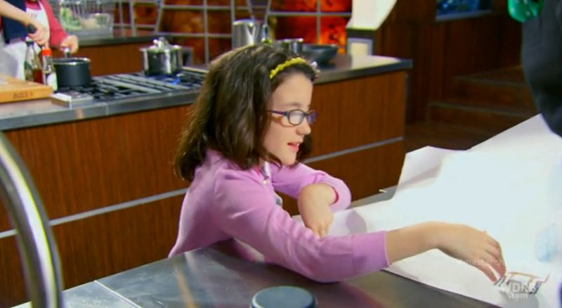 Young but… (Learning from Abby – Masterchef Junior US)