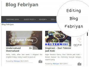 apa yang bisa dilakukan di akhir pekan - ngedit blog