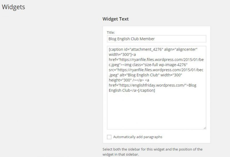 Getting Widgy with it - Tentang Widget di Wordpress nih! 5