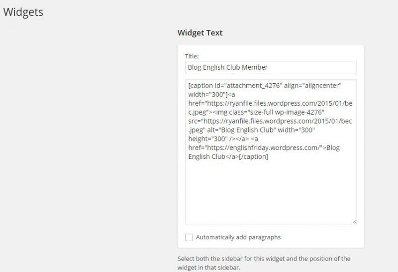 Getting Widgy with it - Tentang Widget di Wordpress nih! 5