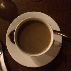 Ini juga kopi - tidak seperti kopi kedai berhias macam-macam, ini kopi jahe. Enak banget... apalagi minum di tempatnya... di Semarang