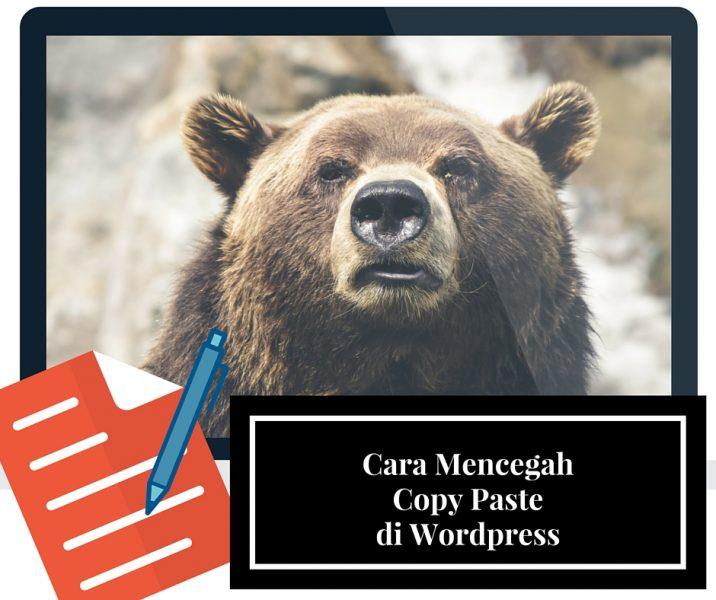 cara mencegah copy paste di wordpress