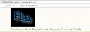 ke mana aja update blog