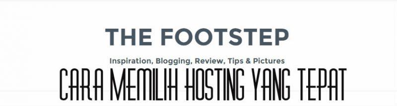 cara cerdas memilih hosting terbaik yang coook untuk blogger dan pengusaha online