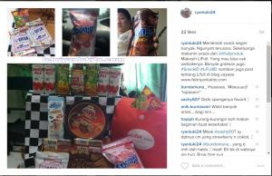 berbagi bahagia dengan snack lifull id