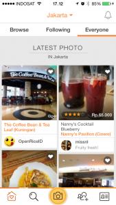 aplikasi restoran open snap dan fitur baru open snap