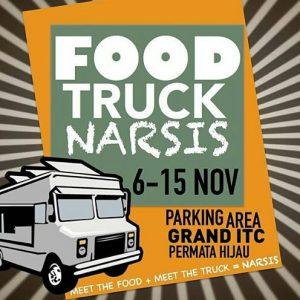 food truck narsis di itc grand permata hijau