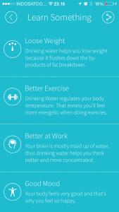 gerakan minum air putih