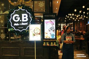 review gb bistro senayan city