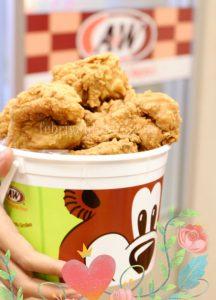 ayam goreng A & W