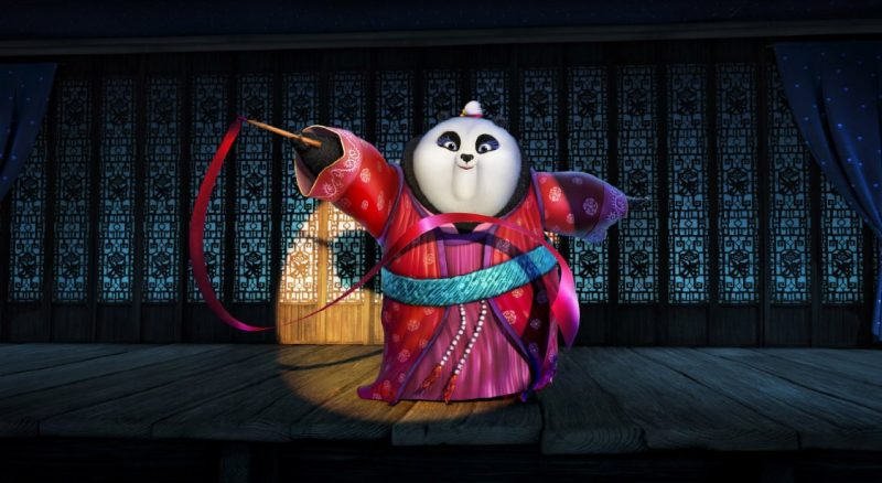 review film kung fu panda 3