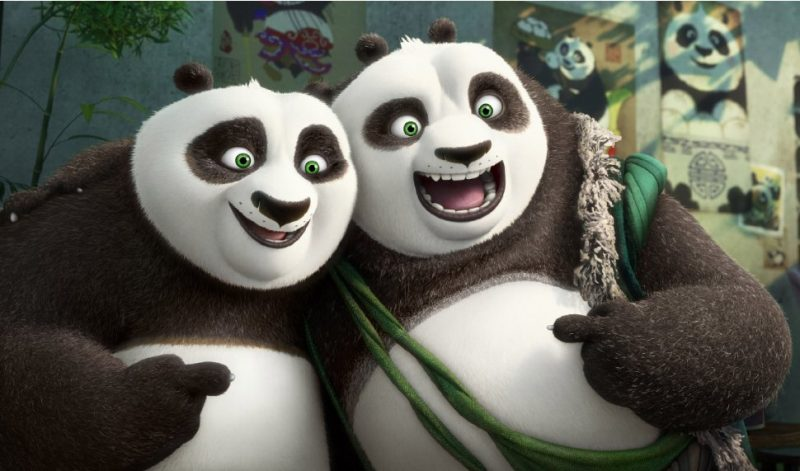 ayah po - review film kung fu panda 3