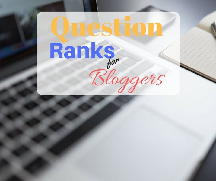 ranks for blogger