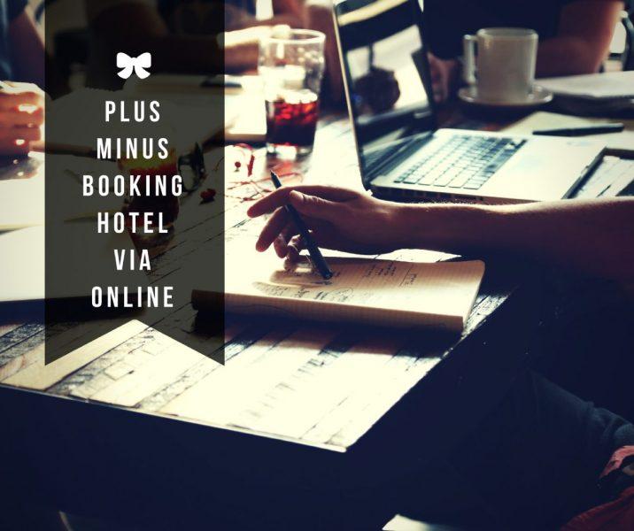 plus minus booking hotel via online