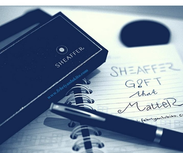 Pena eksklusif Sheaffer - memang cocok untuk kado, seperti tagline: The Gift That Matter