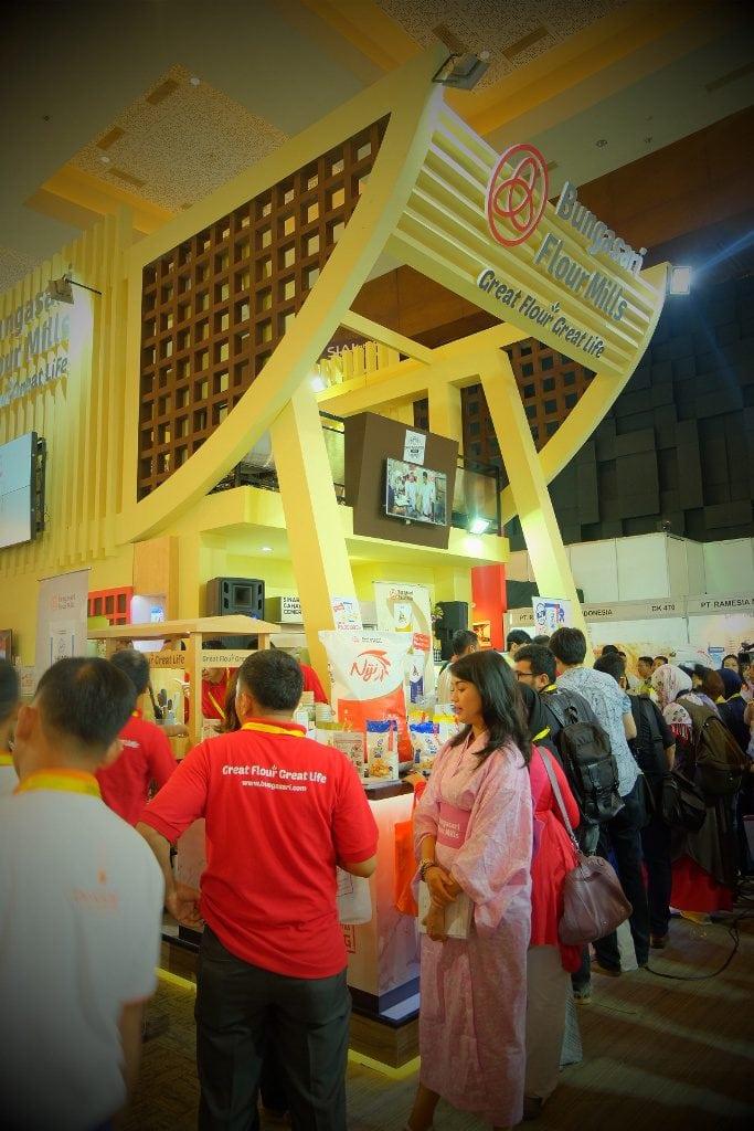 booth bungasari di sial interfood 2016