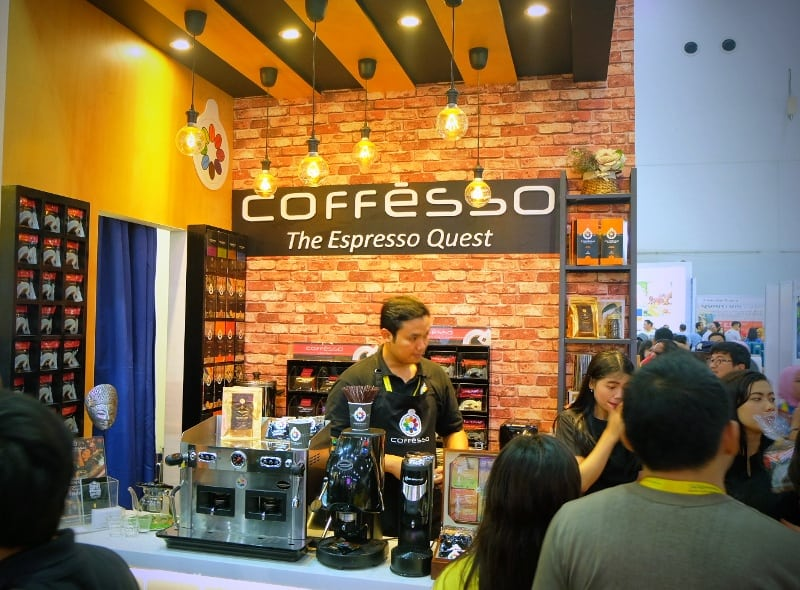 coffesso indonesia di interfood 2016