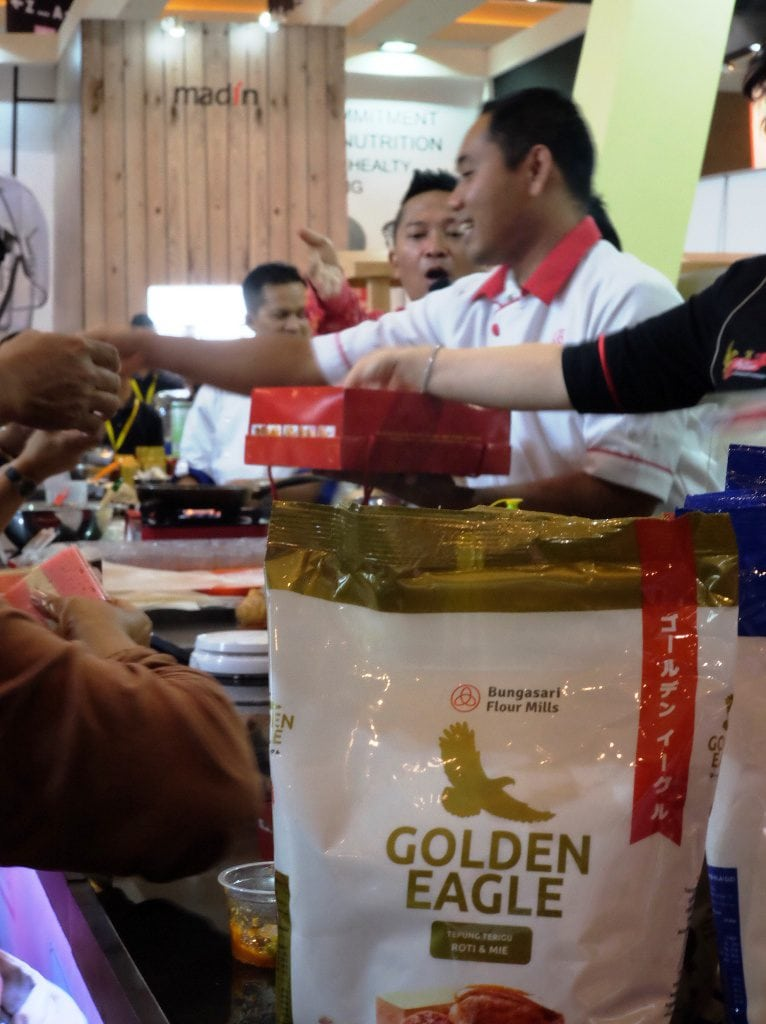 demo masak di bungasari sial interfood 2016