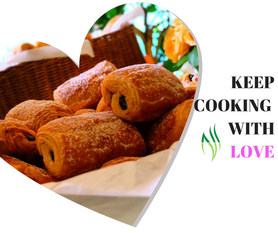 cooking with love and follow your passion