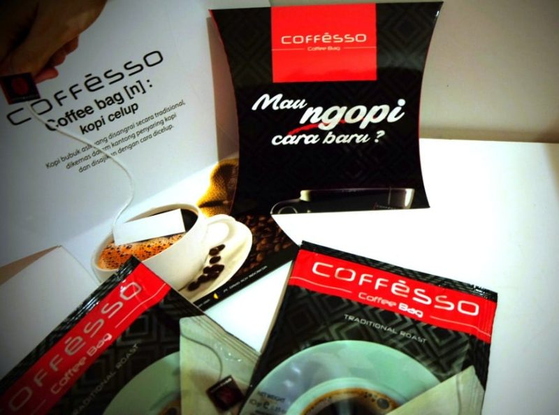 kopi celup cofesso indonesia coffee in bag
