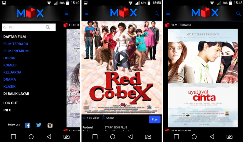 video on demand film indonesia - mox