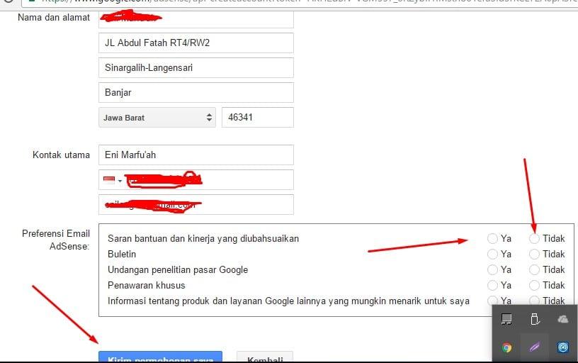panduan lengkap mendaftar adsense di youtube dalam bahasa indonesia