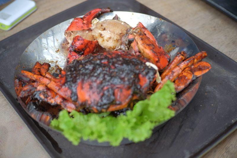 giant crab - kepiting saos lada hitam dapur seafood jakarta utara
