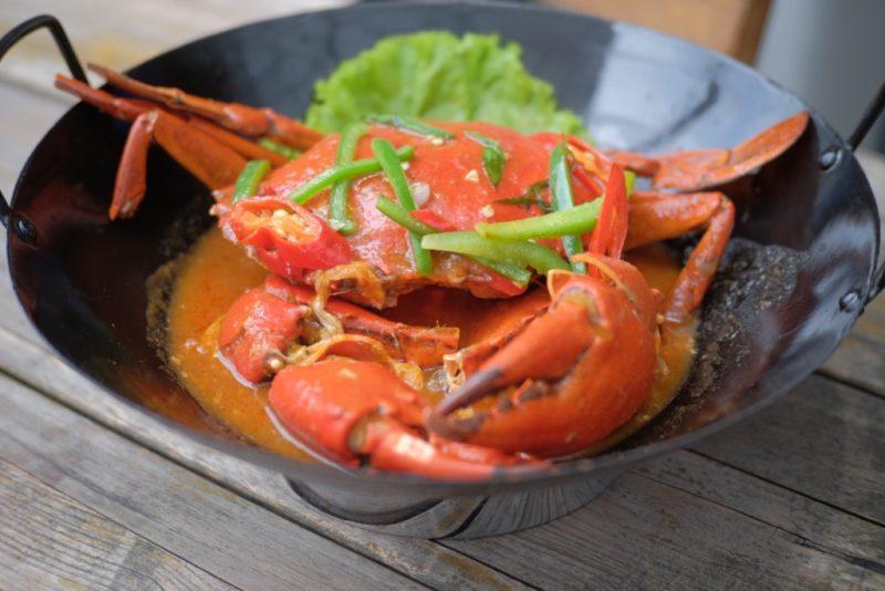 dapur seafood pantai mutiara - kepiting saus padang