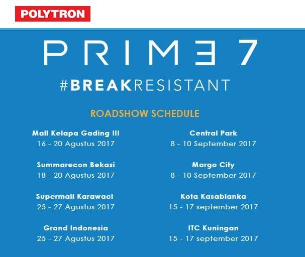 jadwal roadshow polytron prime 7