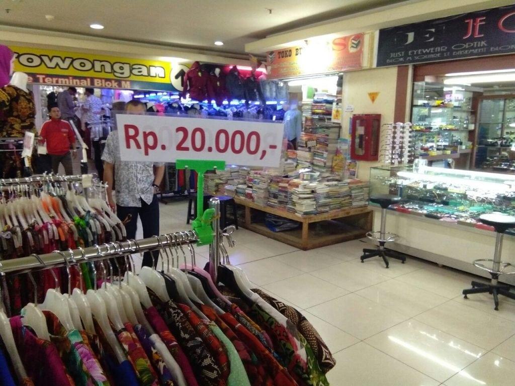 Blok M Square: Sekali Berbelanja, Banyak Untung Didapatkan 3