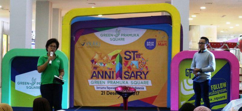 ulang tahun green pramuka square pertama