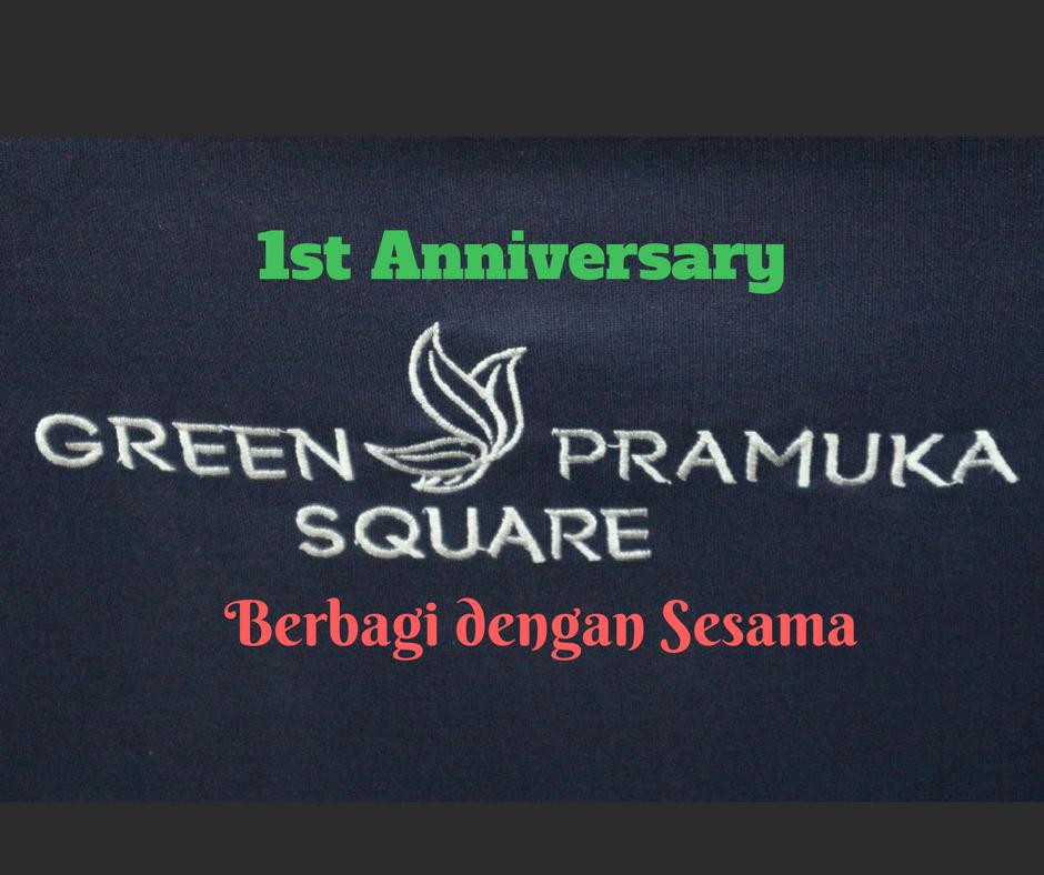 berbagi bersama ykaki - green pramuka square