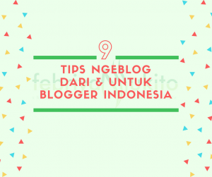 kutipan tips ngeblog dari blogger indonesia