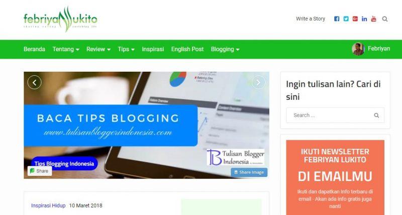 cara menjadi blogger sukses dengan menjadi menonjol