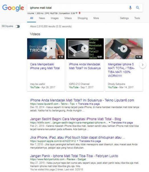 tentang mesin pencari dan blogger serta pemain adsense