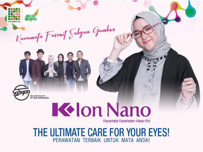 kacamata k ion nano dari k link untuk kesehatan mata