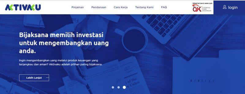 aktivaku platform pinjaman tunai dengan agunan