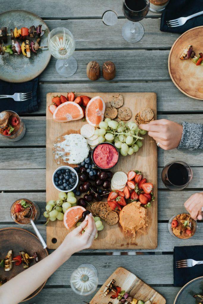 penyedia alami antioksidan tubuh - sayur dan buah