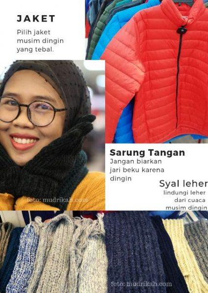 item fashion musim dingin bisa dibeli di factory outlet jakarta utara di mangga dua square