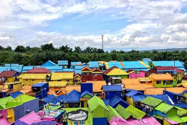 salah satu tempat wisata di malang kampung wisata jodipan